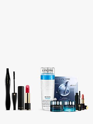Lancôme Hypnôse Mascara and L'Absolu Rouge Sheer Lipstick 371 Bundle with Gift