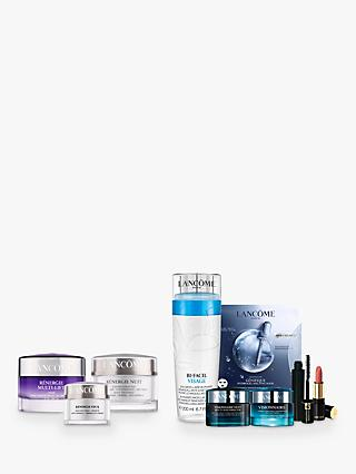 Lancôme Rénergie Multi-Lift Creme Riche, Night Cream and Yeux Jar Bundle with Gift