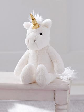 Pottery Barn Kids Plush Unicorn Soft Toy