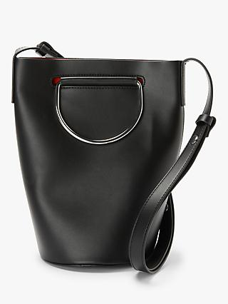 Kin Lori Small Hoop Bucket Bucket Bag