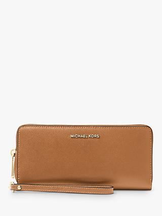 MICHAEL Michael Kors Money Pieces Continental Leather Purse, Acorn