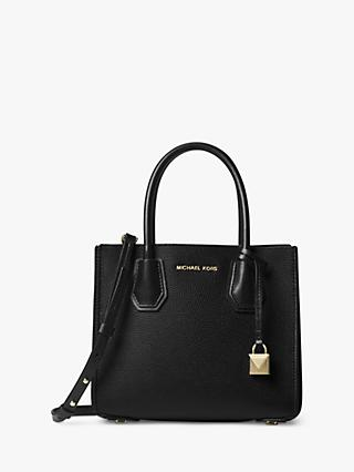 MICHAEL Michael Kors Mercer Accordion Medium Leather Tote Bag