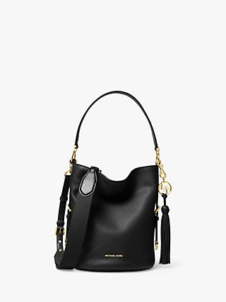 dcf010353 MICHAEL Michael Kors Brooke Medium Leather Bucket Bag