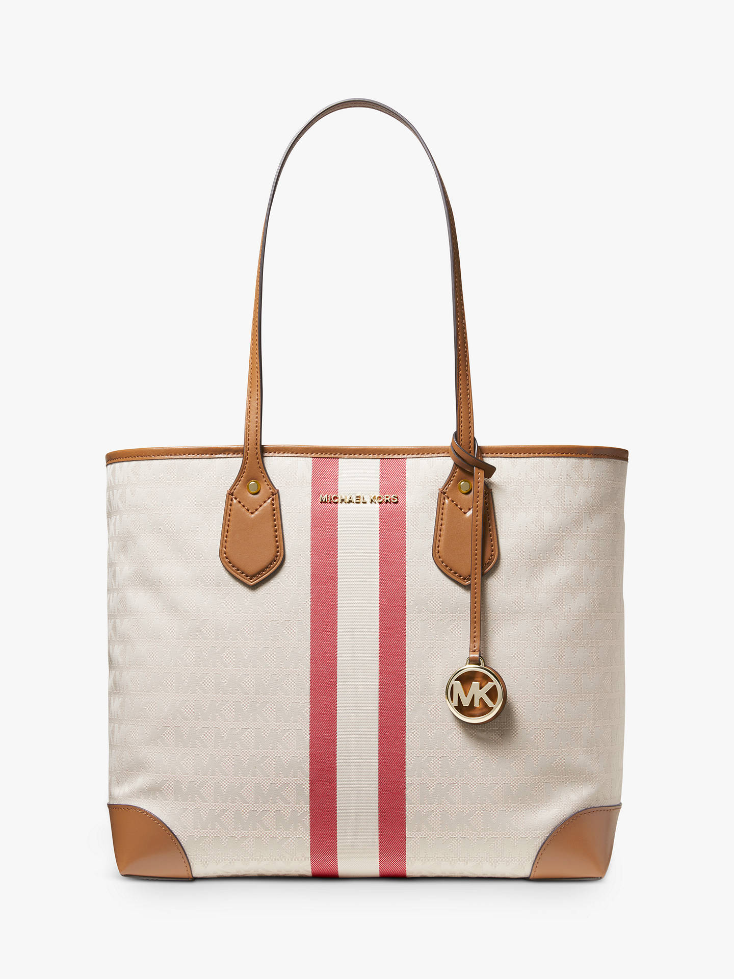 063a9e8b51 Buy MICHAEL Michael Kors Eva Large Stripe Tote Bag