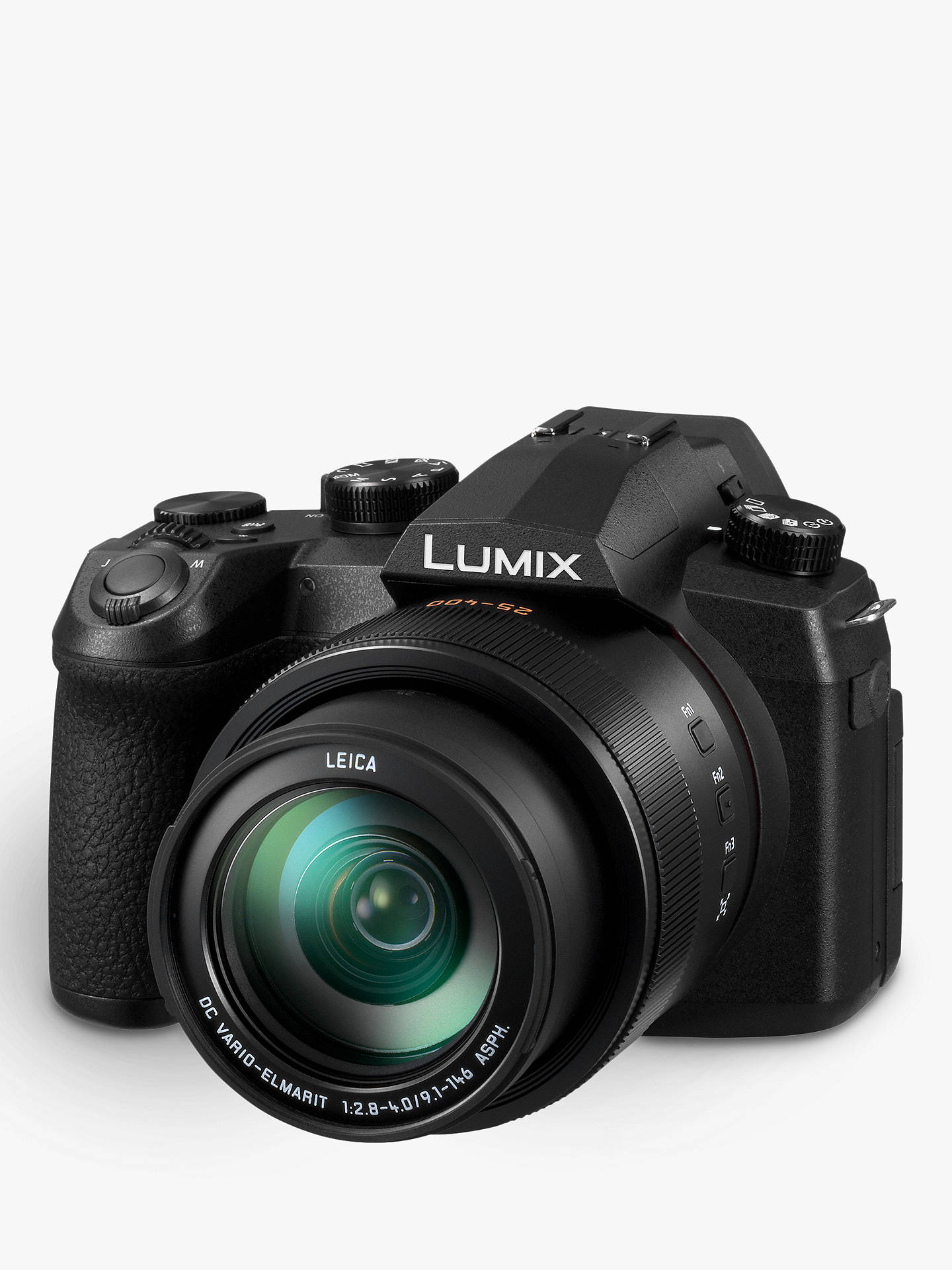 "Buy Panasonic Lumix DC-FZ1000 II Bridge Camera, 4K Ultra HD, 20.1MP, 16x Optical Zoom, Wi-Fi, Bluetooth, OLED Viewfinder, 3"" Touch Screen with Shoulder Bag & Extra Battery Pack Online at johnlewis.com"
