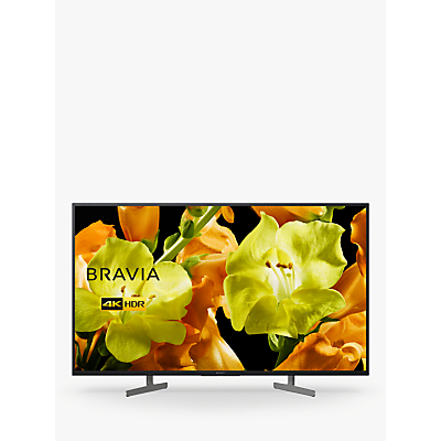 Image of Sony Bravia KD49XG8196 (2019) LED HDR 4K Ultra HD Smart Android TV, 49 with Freeview HD & Youview, Black
