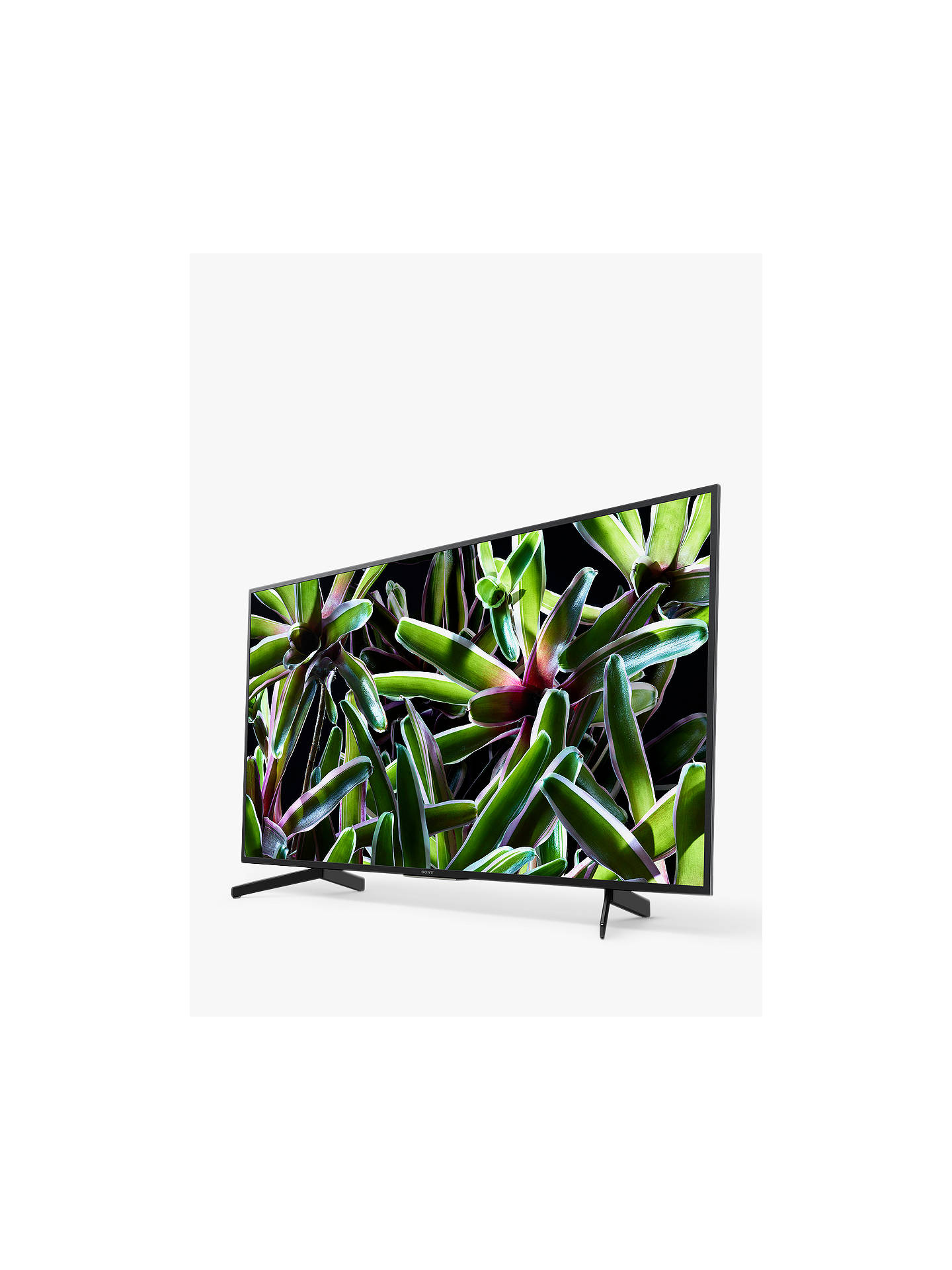 "Buy Sony Bravia KD55XG7093 (2019) LED HDR 4K Ultra HD Smart TV, 55"" with Freeview Play, Black Online at johnlewis.com"