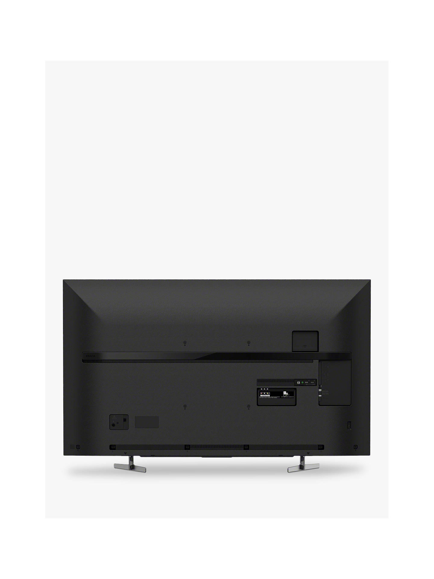 "Buy Sony Bravia KD55XG8196 (2019) LED HDR 4K Ultra HD Smart Android TV, 55"" with Freeview HD & Youview, Black Online at johnlewis.com"