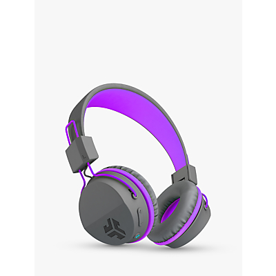 Image of JLab Audio JBuddies Studio Wireless Bluetooth Children's Volume Limiting Over-Ear Headphones with Mic/Remote