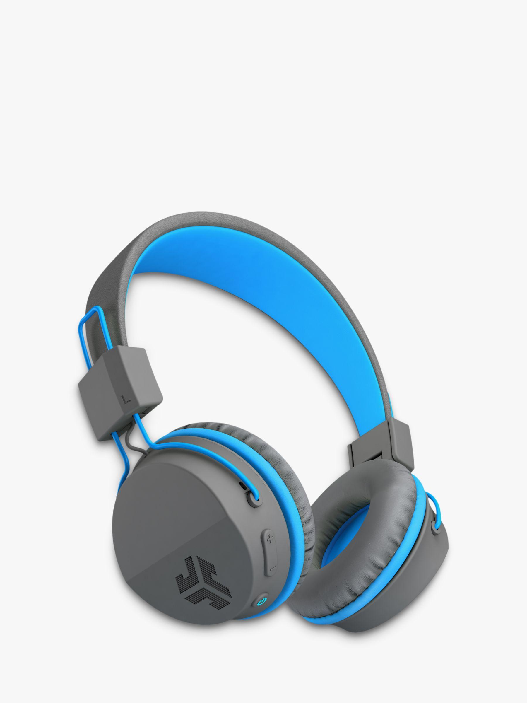 07c8be6c6d2 JLab Audio JBuddies Studio Wireless Bluetooth Children's Volume Limiting  Over-Ear Headphones with Mic/Remote at John Lewis & Partners