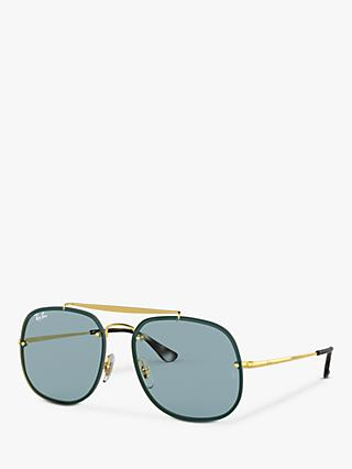 Ray-Ban RB3583N Unisex Blaze General Square Sunglasses