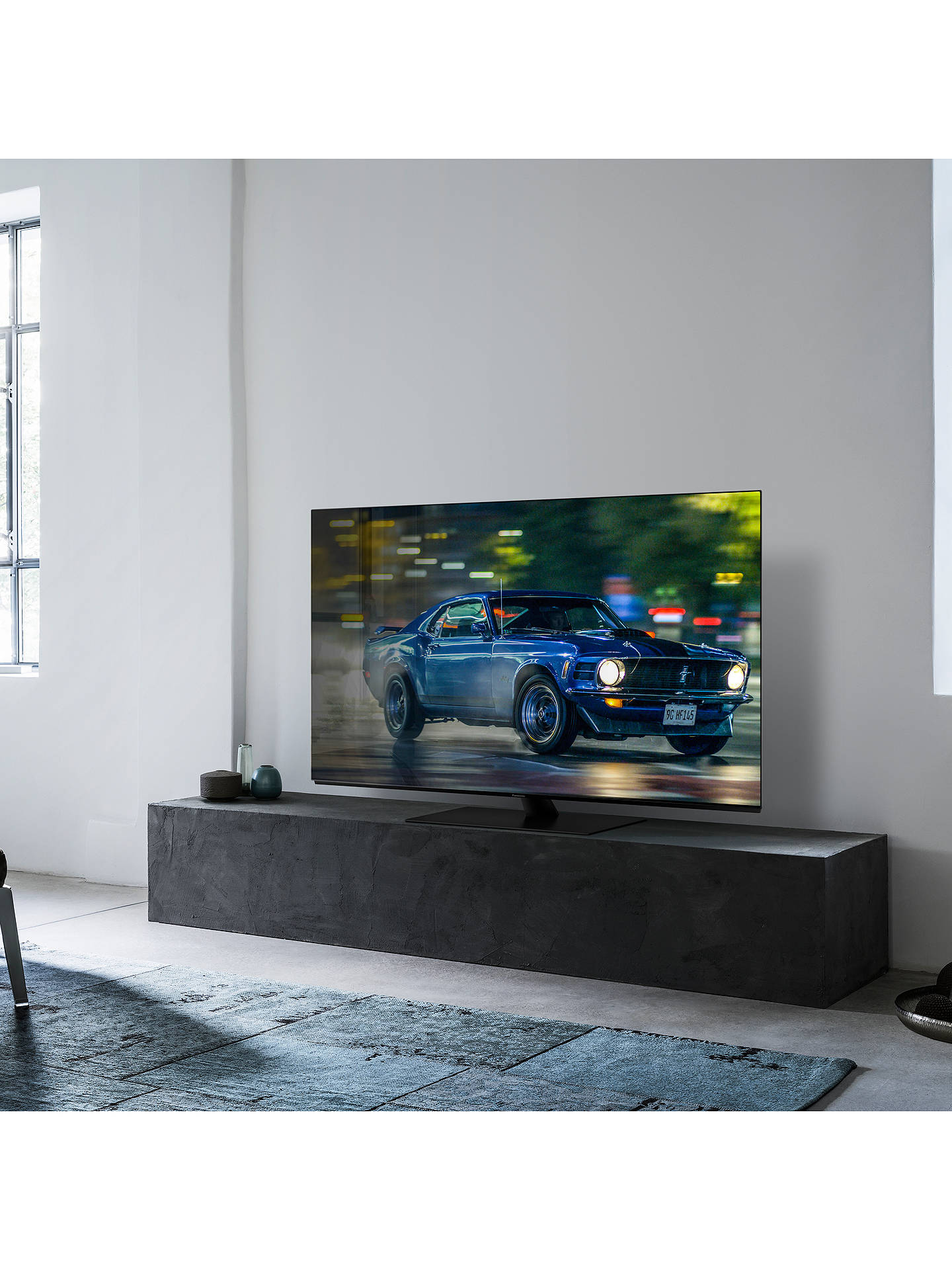 "Buy Panasonic TX-55GZ950B (2019) OLED HDR 4K Ultra HD Smart TV, 55"" with Freeview Play & Dolby Atmos, Ultra HD Premium Certified, Graphite & Black Online at johnlewis.com"