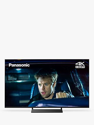 "Panasonic TX-58GX800B (2019) LED HDR 4K Ultra HD Smart TV, 58"" with Freeview Play, Graphite & Black"
