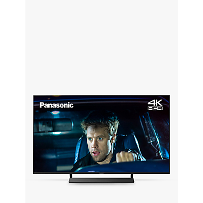 Panasonic TX-50GX800B (2019) LED HDR 4K Ultra HD Smart TV, 50 with Freeview Play, Graphite & Black