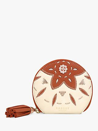 Radley Kempton Small Leather Market Purse, Natural