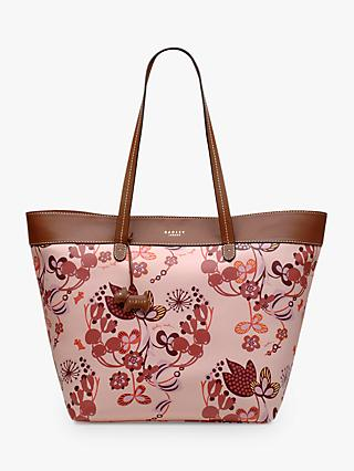 Radley Heritage Flower East West Shoulder Tote Bag, Blush