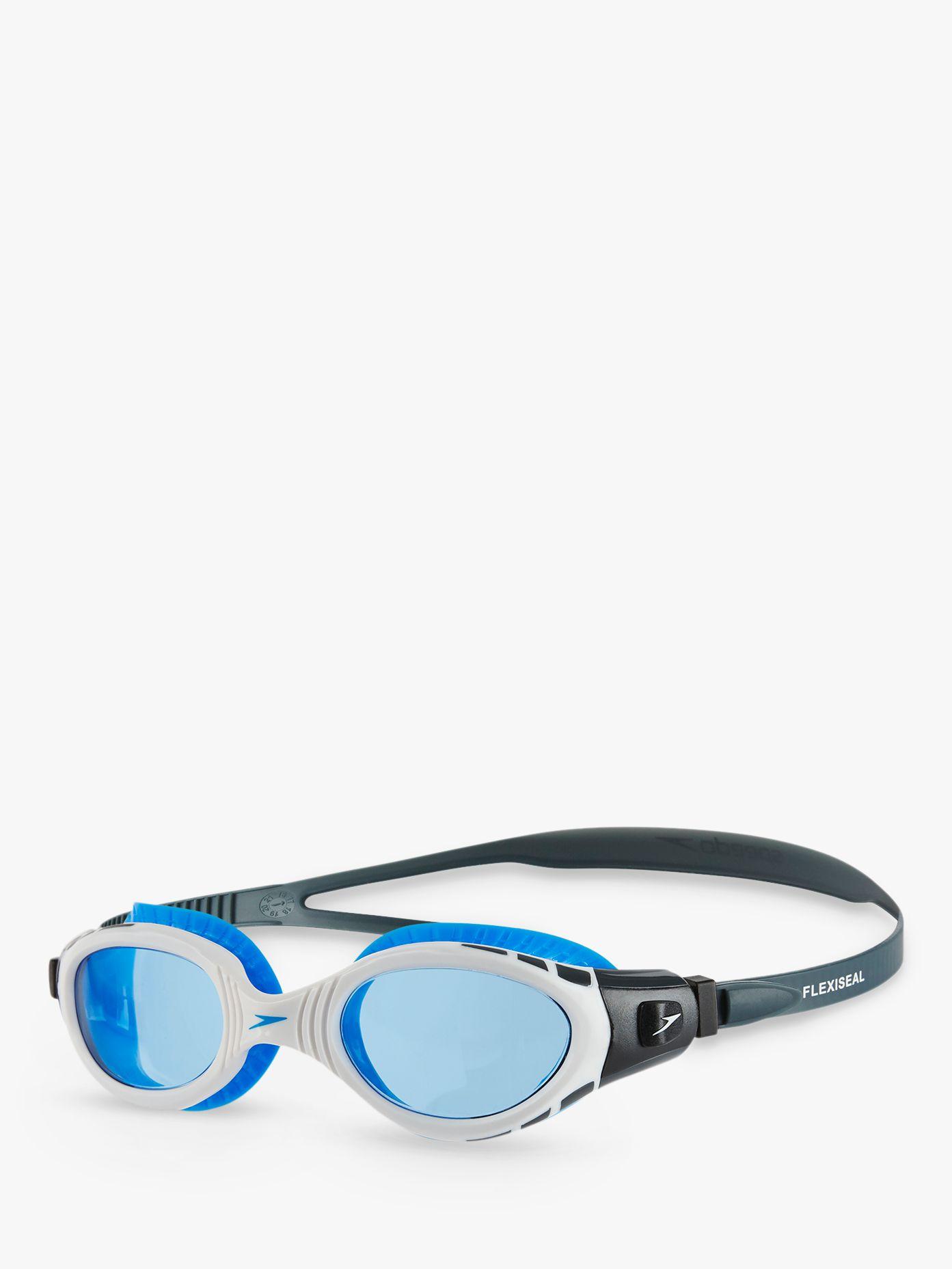 Speedo Speedo Futura Biofuse Flexiseal Swimming Goggles, Oxid Grey/White/Blue
