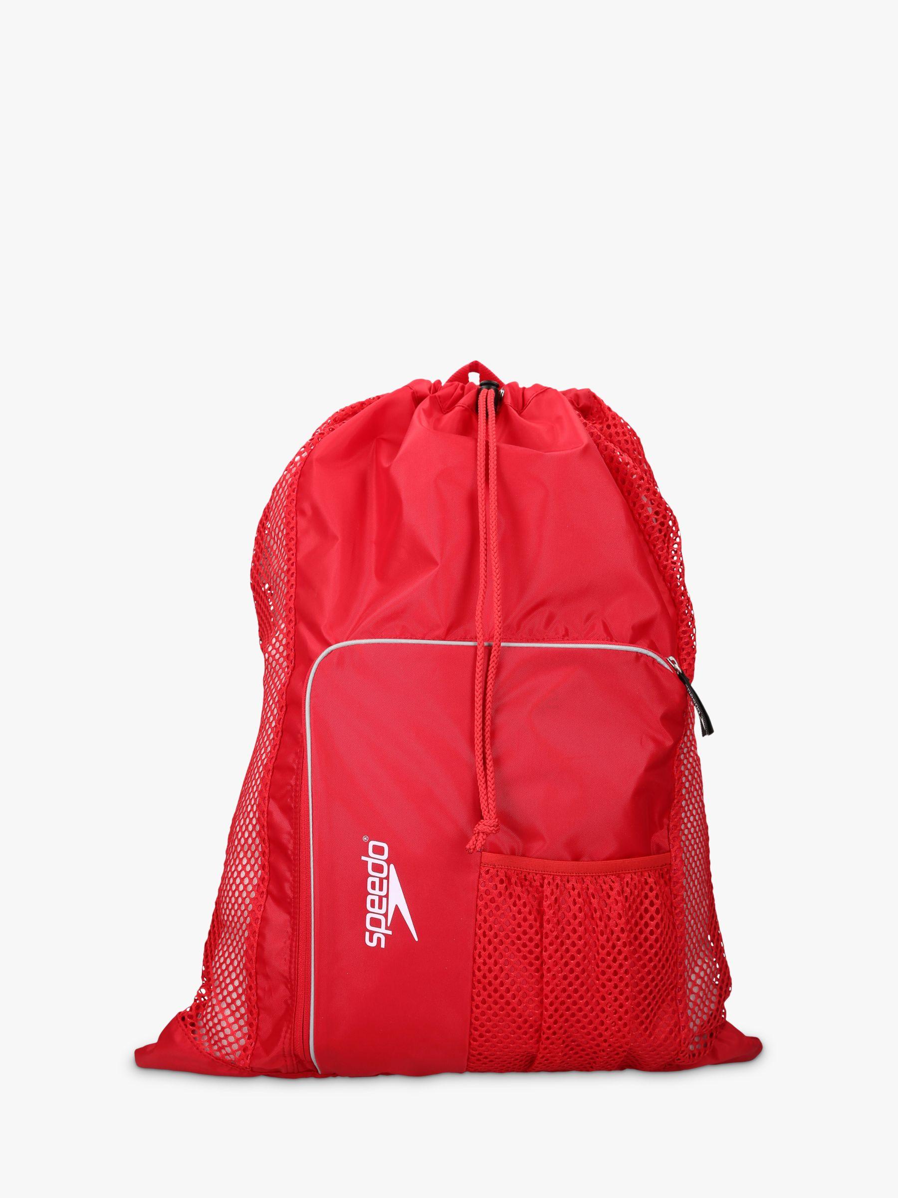Speedo Speedo Deluxe Ventilator Mesh Bag, Red