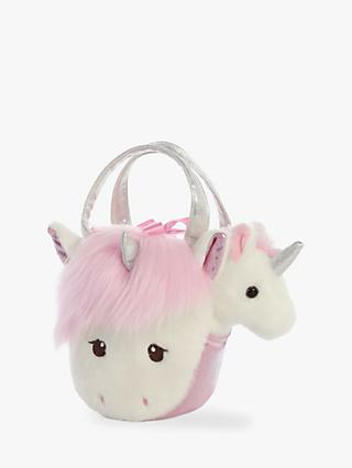 Aurora World Fancy Pal Tulip Unicorn Pink Handbag