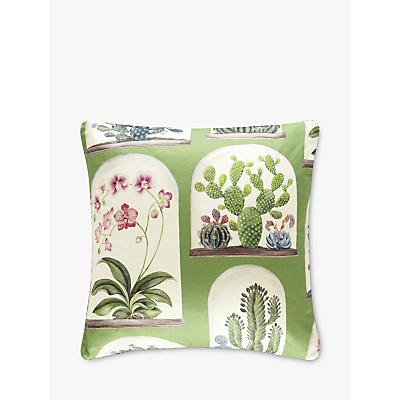 Sanderson Terrariums Cushion, Botanical Green