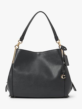 Coach Dalton 28 Leather Shoulder Bag