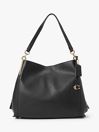 Coach Dalton 31 Leather Shoulder Bag