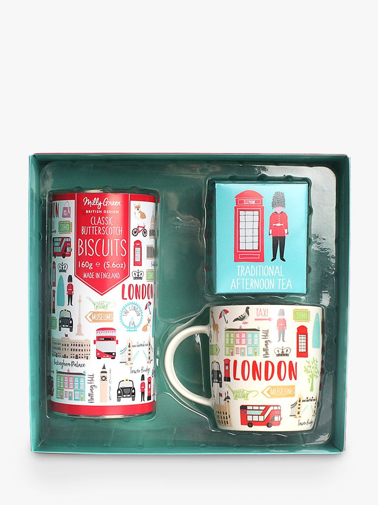 Milly Green Milly Green London Adventures Tea Time Gift Set
