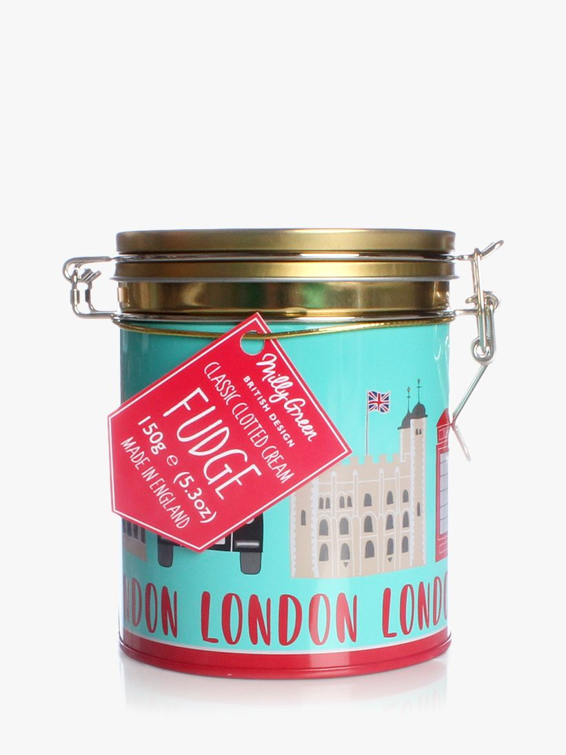 Milly Green Milly Green London Adventures Classic Clotted Cream Fudge, 150g
