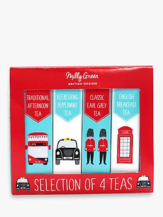 Milly Green Tea Selection, 90g