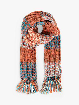 Powder Astrid Patchwork Scarf, Copper Mix