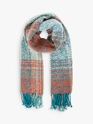 Powder Maggie Check Scarf
