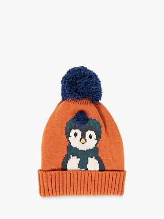 Powder Cosy Penguin Hat, Copper