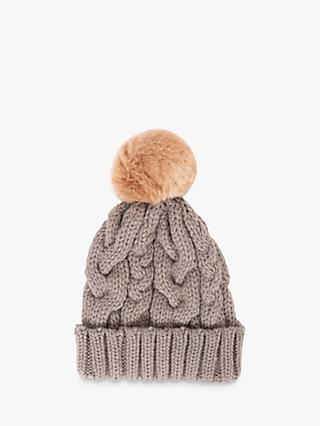 Powder Charlotte Cable Knit Bobble Hat