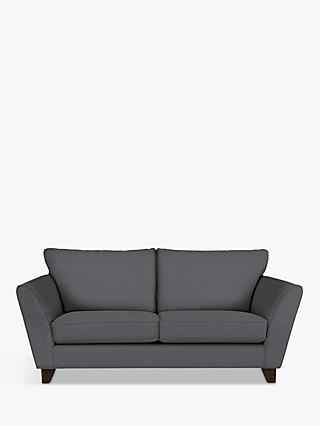 John Lewis & Partners Oslo Medium 2 Seater Sofa, Dark Leg, Pepper Dusk