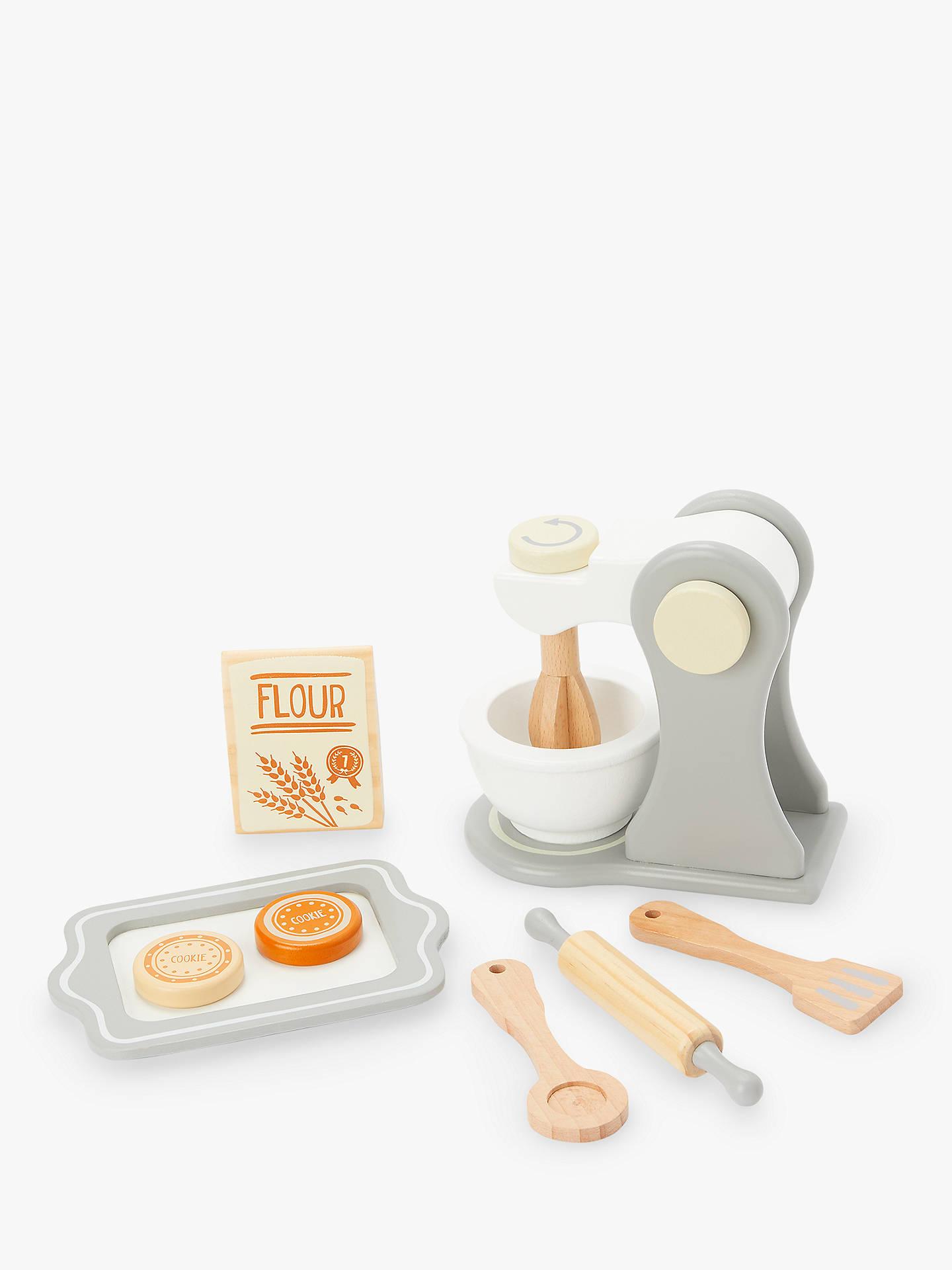 John Lewis & Partners Wooden Baking Set
