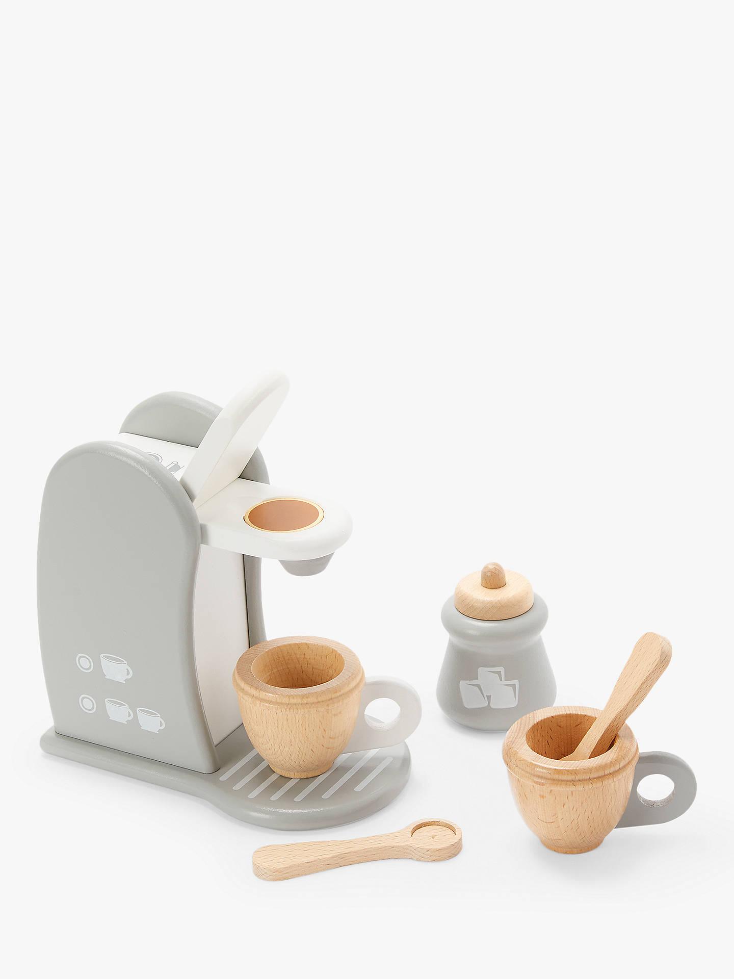 John Lewis Partners Wooden Coffee Machine