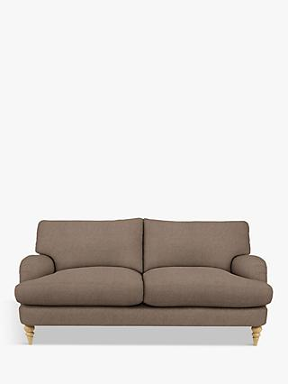 John Lewis & Partners Otley Large 3 Seater Sofa, Light Leg, Dylan Natural