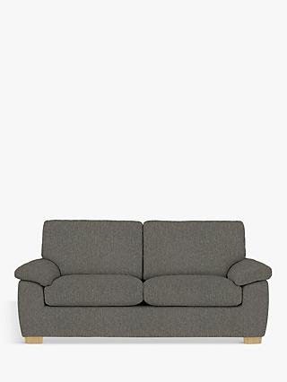 John Lewis & Partners Camden Large 3 Seater Sofa, Light Leg