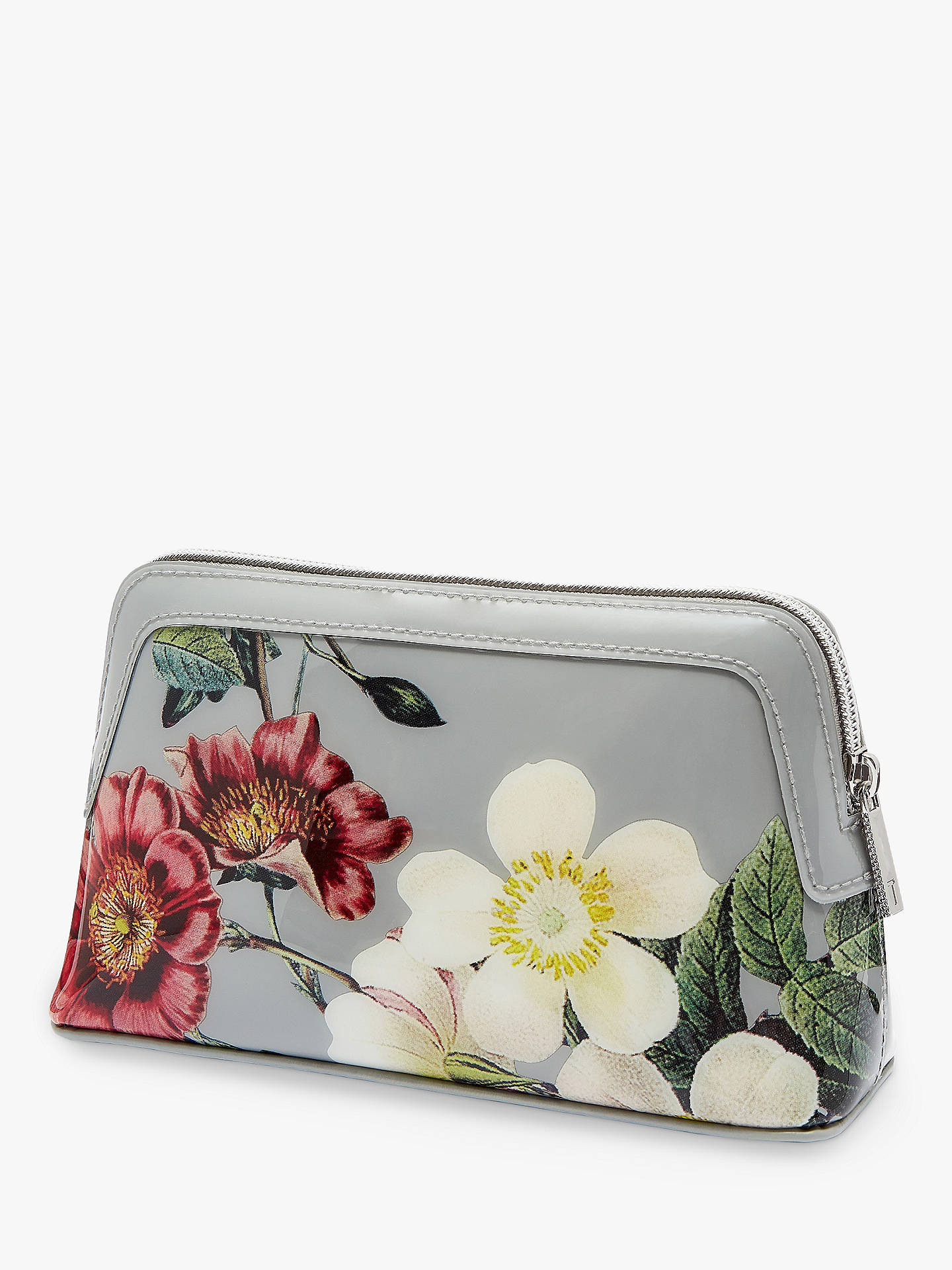 Buy Ted Baker Jannar Oracle Makeup Bag, Light Grey Online at johnlewis.com