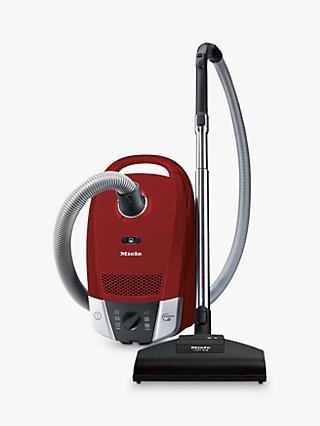 Miele Compact C2 Cat and Dog Powerline Vacuum Cleaner, Mango Red