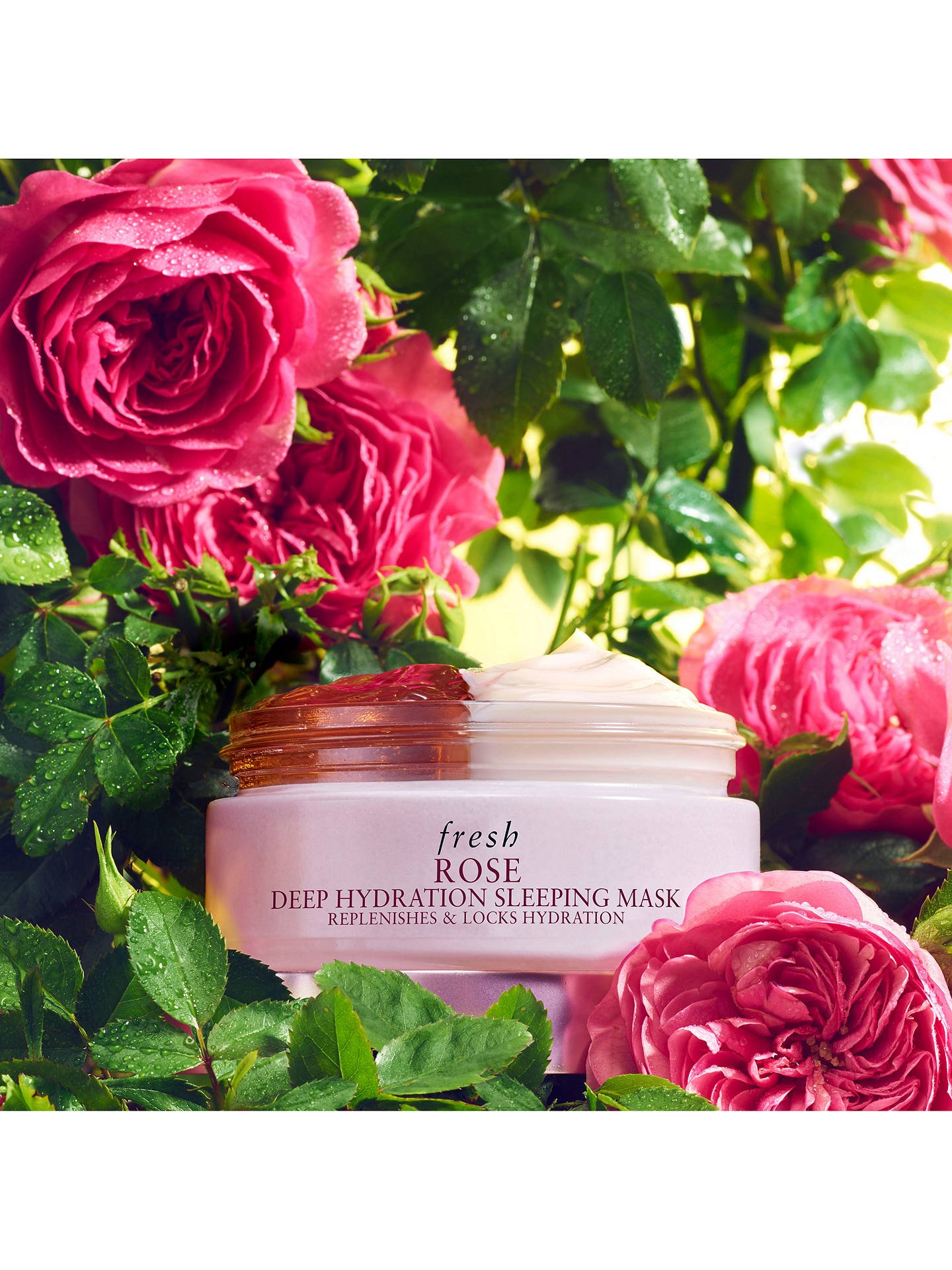 Buy Fresh Rose Deep Hydration Sleeping Mask, 70ml Online at johnlewis.com
