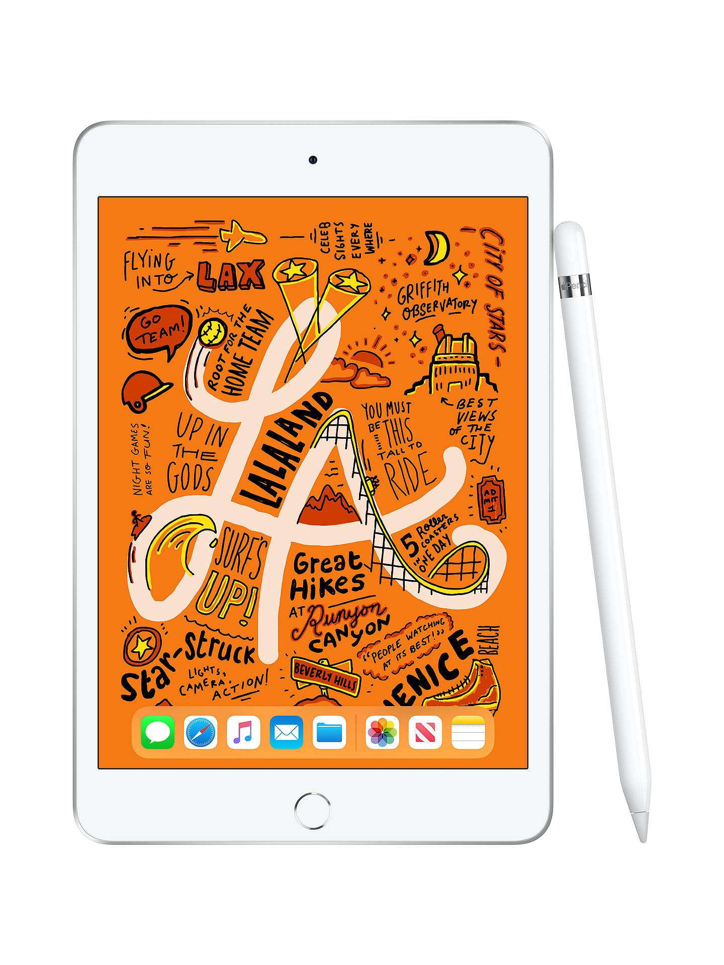 "Buy 2019 Apple iPad mini, Apple A12, iOS, 7.9"", Wi-Fi & Cellular, 64GB, Gold Online at johnlewis.com"