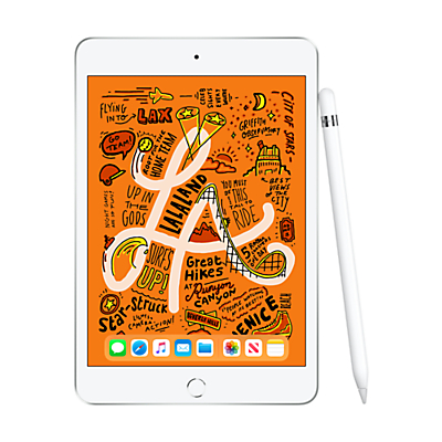 Image of 2019 Apple iPad mini, Apple A12, iOS, 7.9, Wi-Fi & Cellular, 64GB