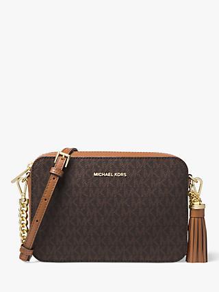 MICHAEL Michael Kors Crossbodies Medium Camera Bag, Brown
