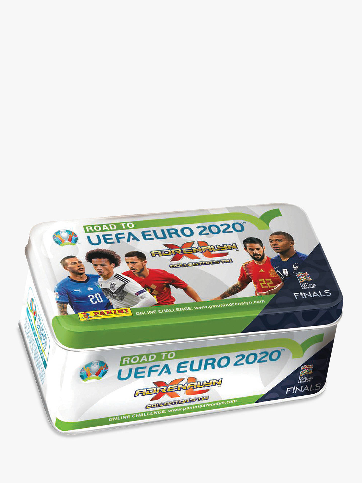 Mega Tin 2020 Card List.Panini Adrenalyn Xl Road To Euro 2020 Classic Tin