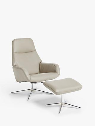 No.122 Range, Design Project by John Lewis No.122 Reclining Chair with Footstool