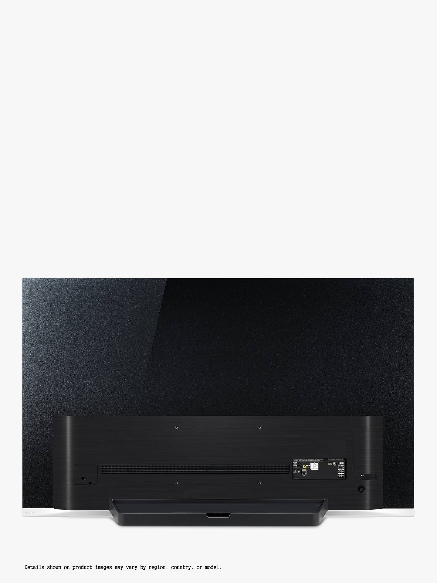 "Buy LG OLED55E9PLA (2019) OLED HDR 4K Ultra HD Smart TV, 55"" with Freeview Play/Freesat HD, Picture-On-Glass Design & Dolby Atmos, Ultra HD Certified, Black Online at johnlewis.com"