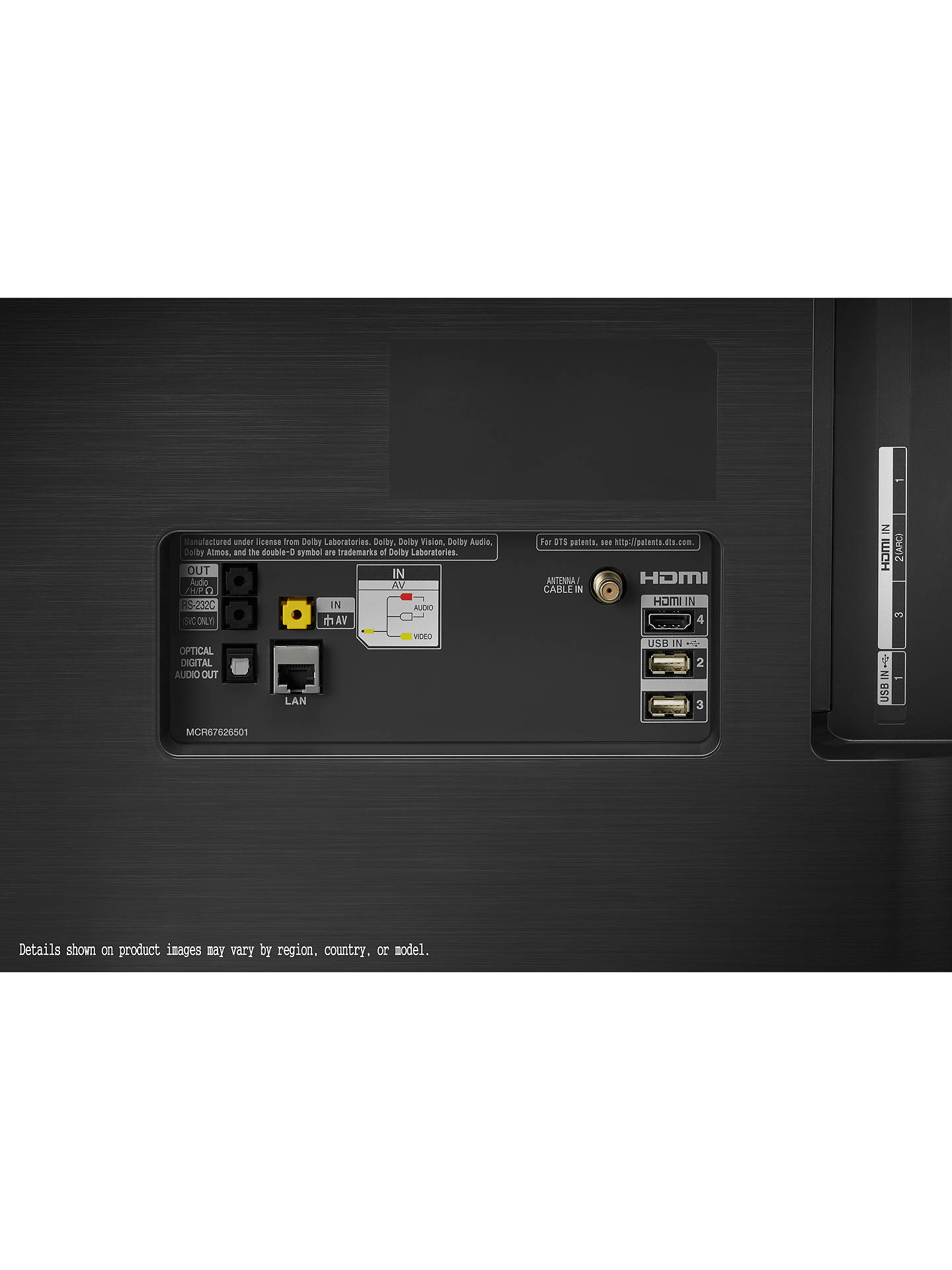 LG OLED65C9PLA (2019) OLED HDR 4K Ultra HD Smart TV, 65