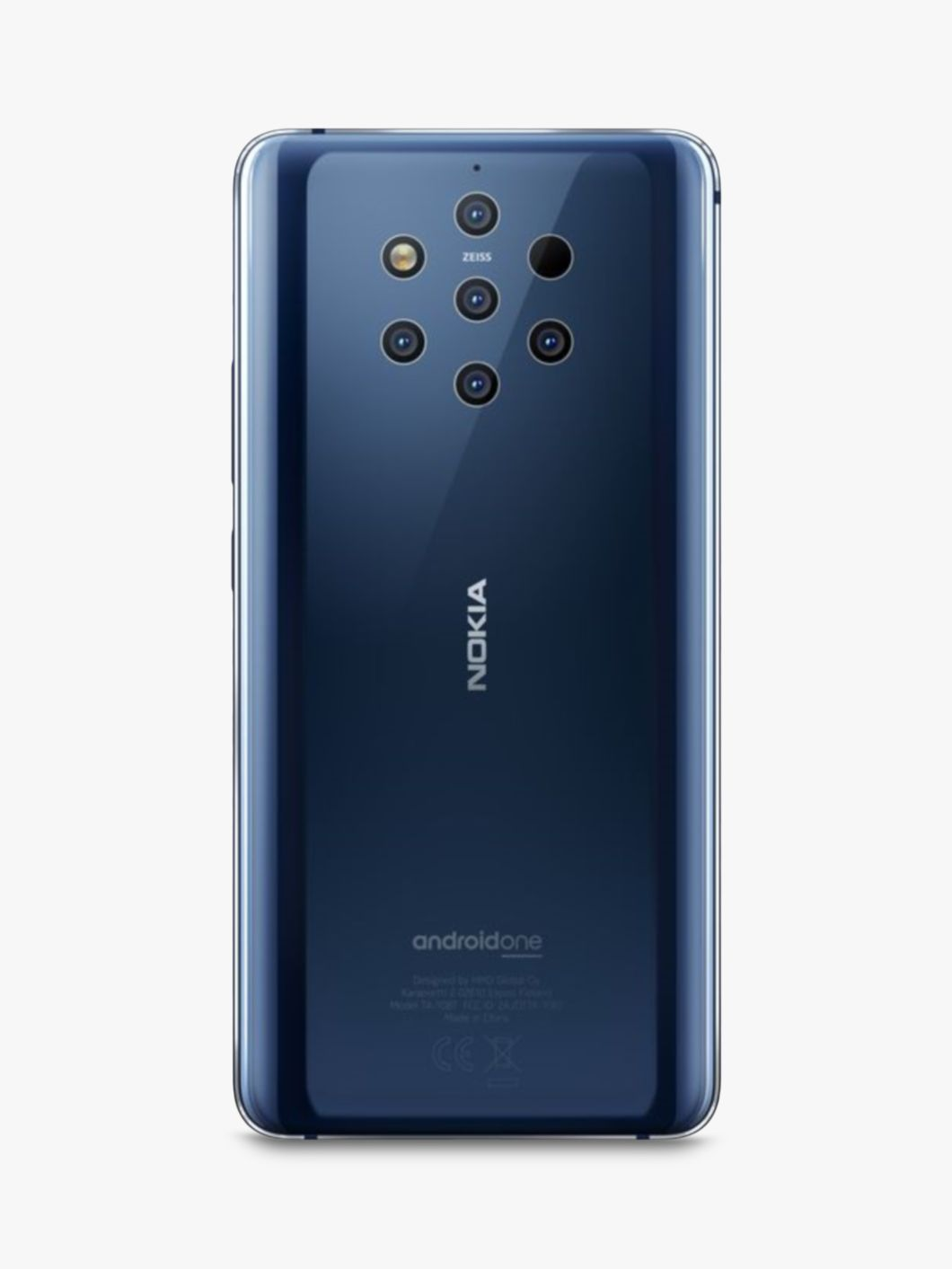 Nokia 9 Pureview Smartphone Android 6gb Ram 5 99 4g Lte Sim Free 128gb Blue 128gb Blue At John Lewis Partners