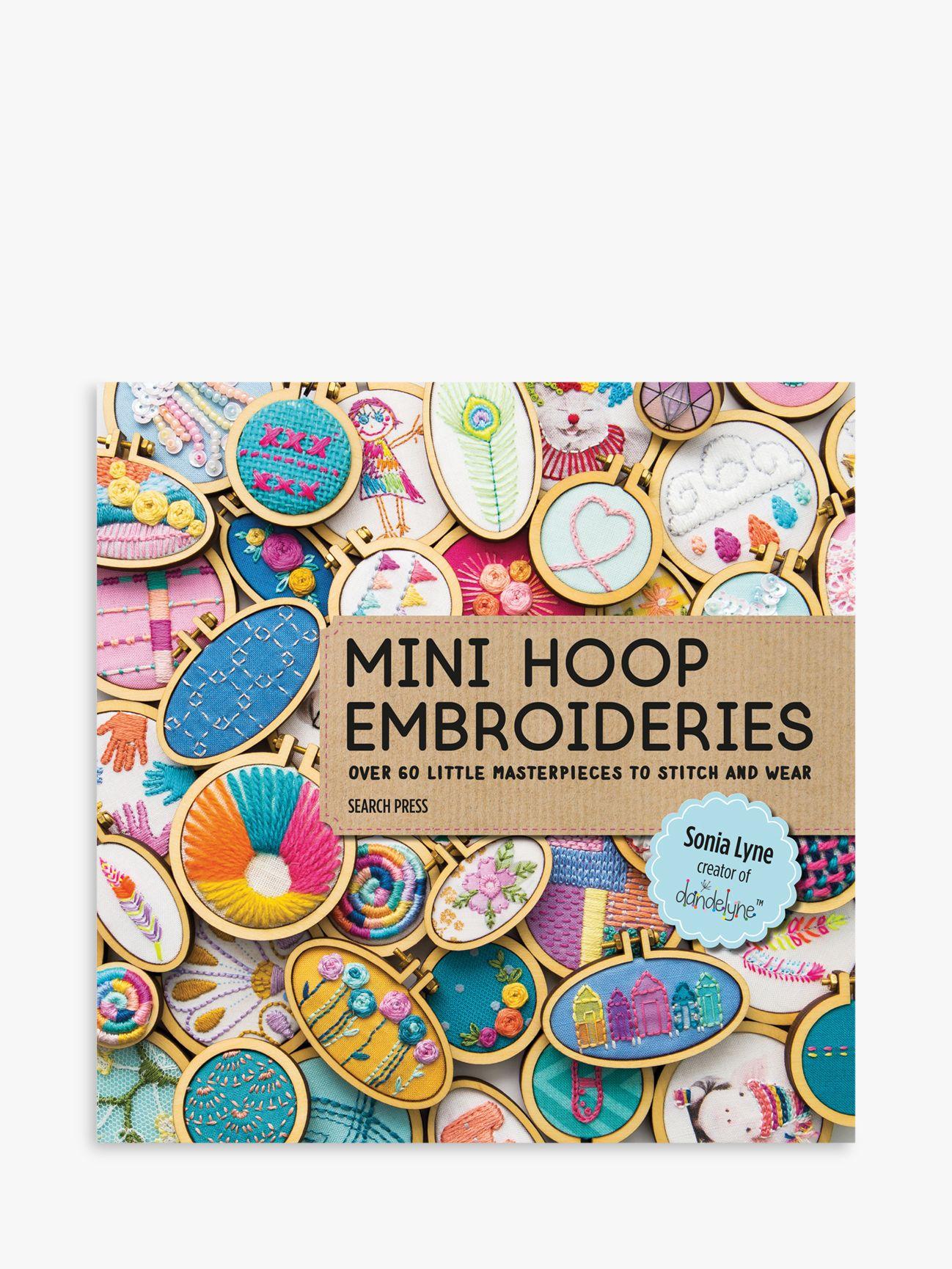 Search Press Search Press Mini Hoop Embroideries Book